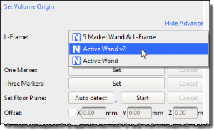 Set the volume origin - Nexus 2 6 Documentation - Vicon Documentation